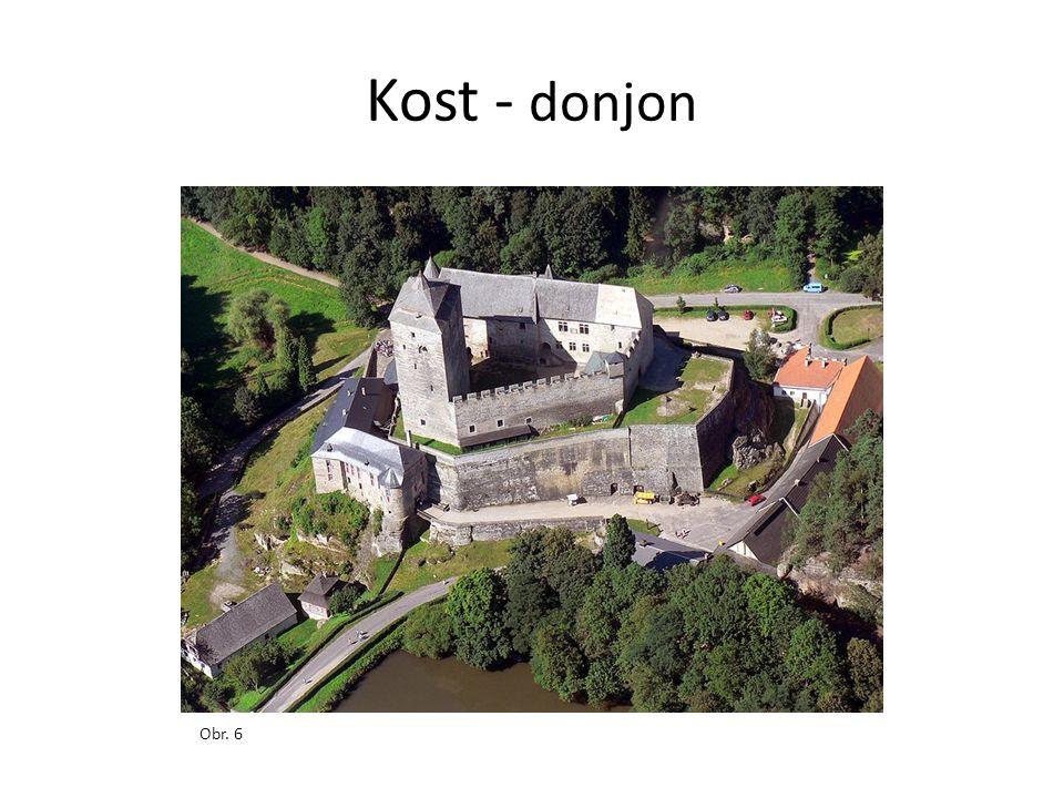 Kost - donjon Obr. 6