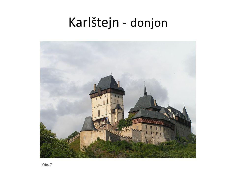 Karlštejn - donjon Obr. 7