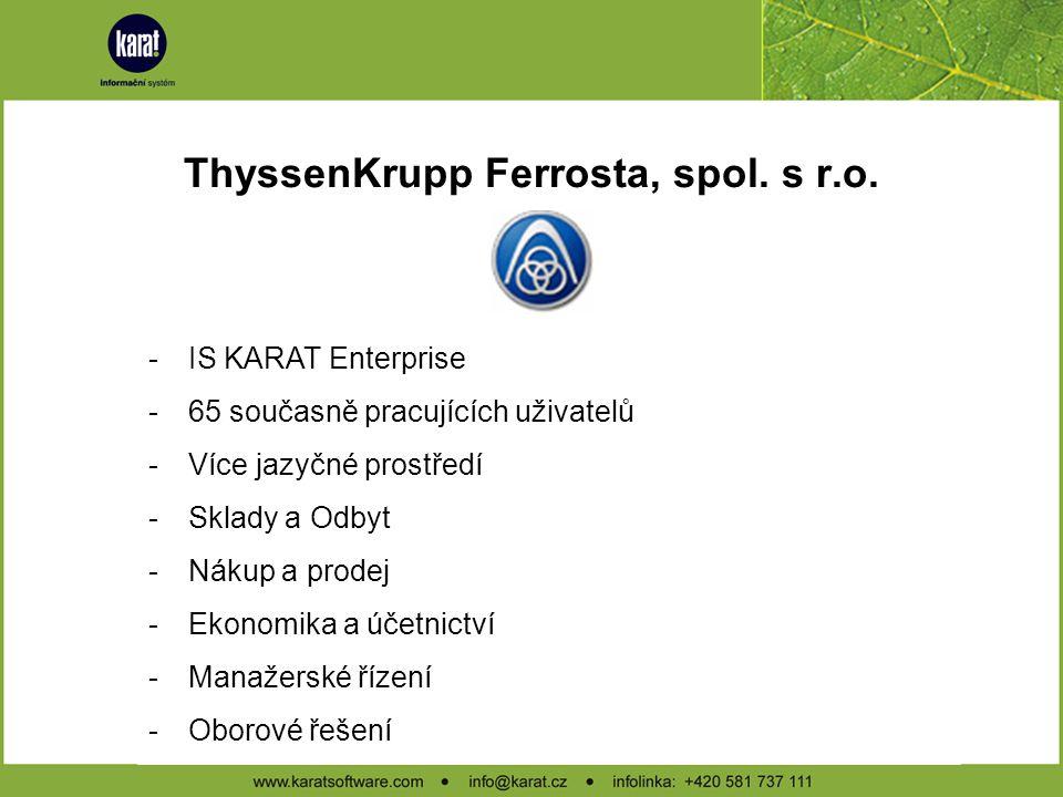 ThyssenKrupp Ferrosta, spol. s r.o.