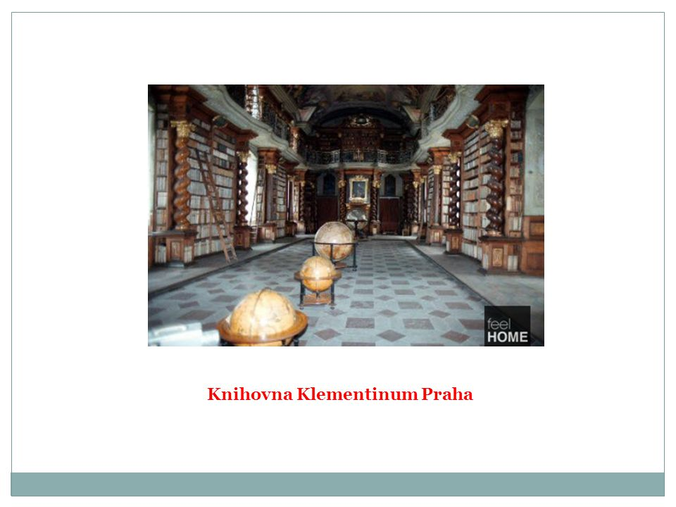 Knihovna Klementinum Praha