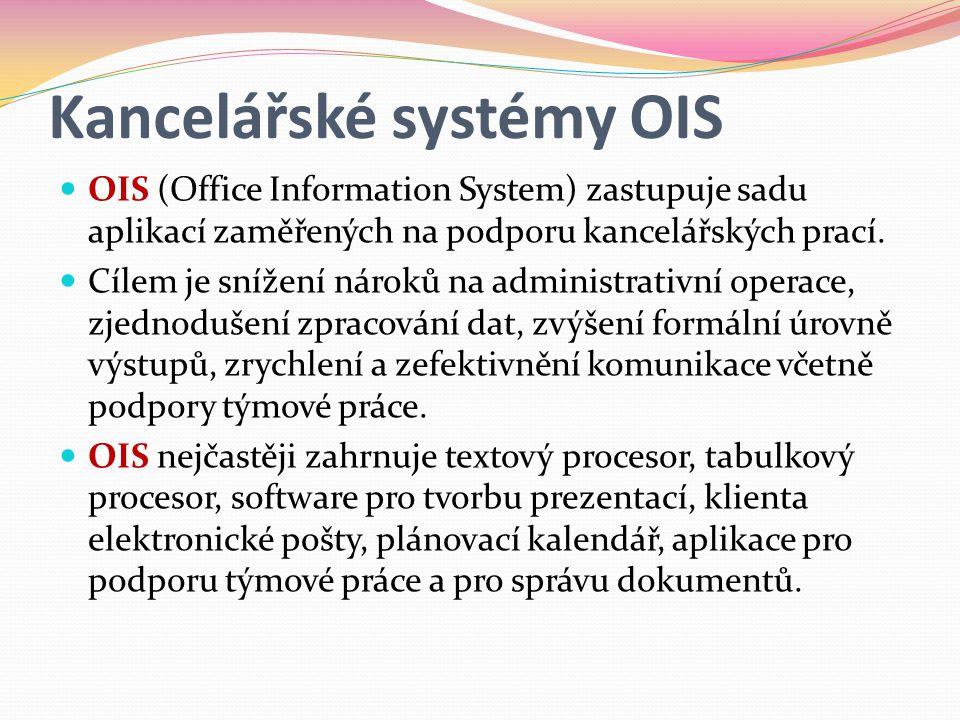Kancelářské systémy OIS