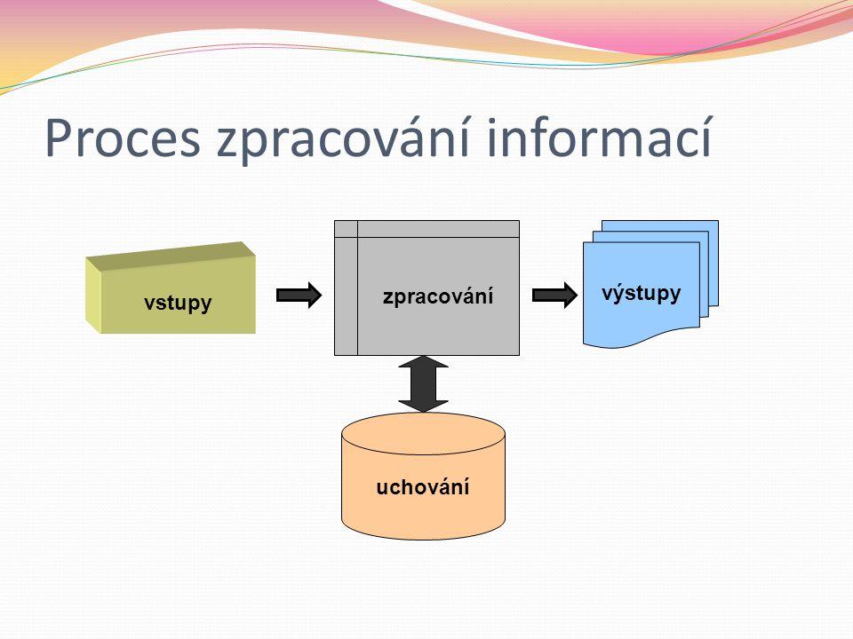Proces zpracování informací