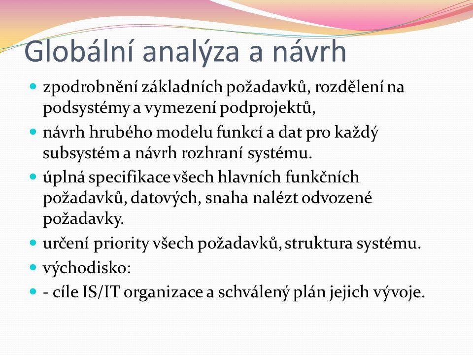 Globální analýza a návrh