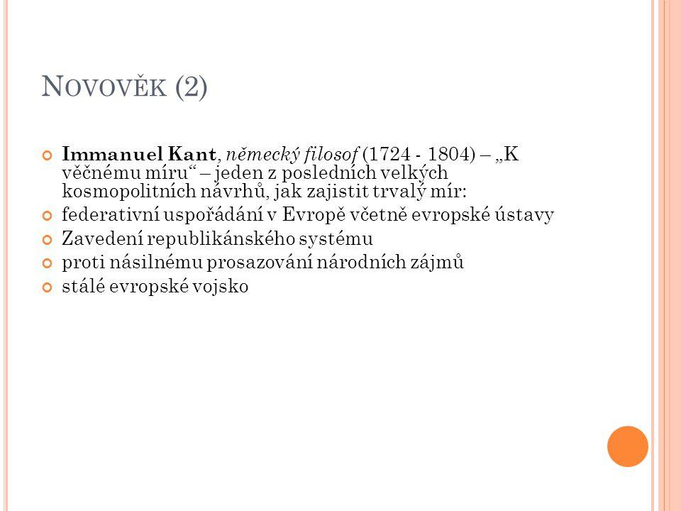 Novověk (2)