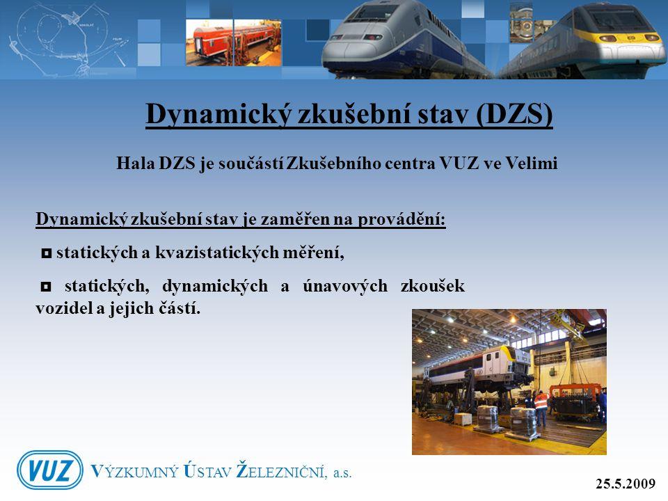 Dynamický zkušební stav (DZS)