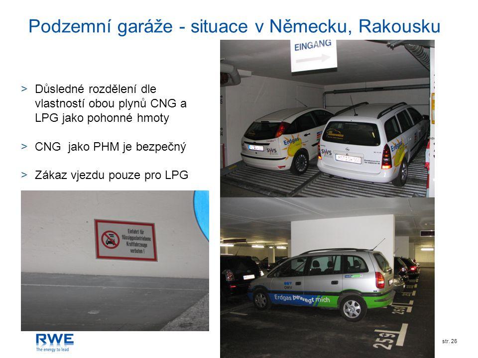 Podzemní garáže - situace v Německu, Rakousku