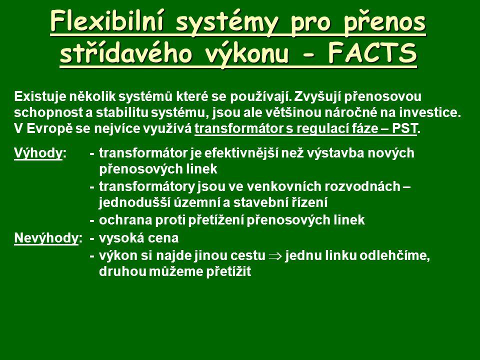Flexibilní systémy pro přenos střídavého výkonu - FACTS