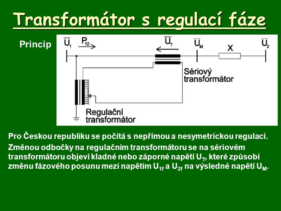 Transformátor s regulací fáze