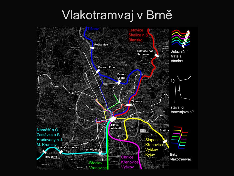 Vlakotramvaj v Brně