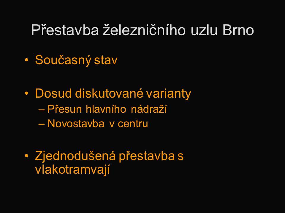 Přestavba železničního uzlu Brno