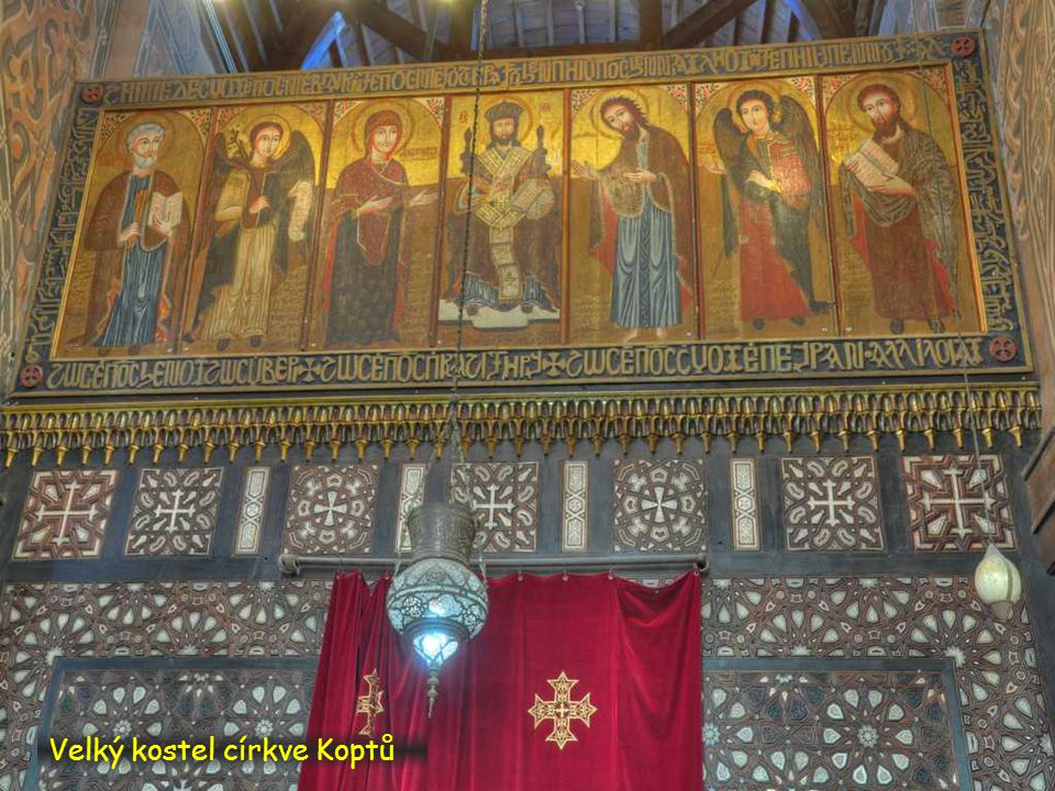 Velký kostel církve Koptů
