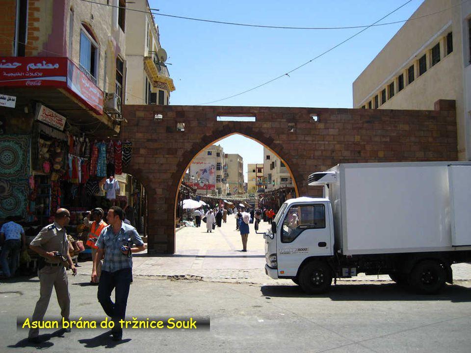 Asuan brána do tržnice Souk