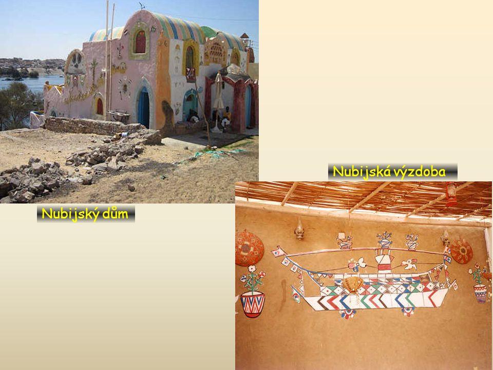Nubijská výzdoba Nubijský dům