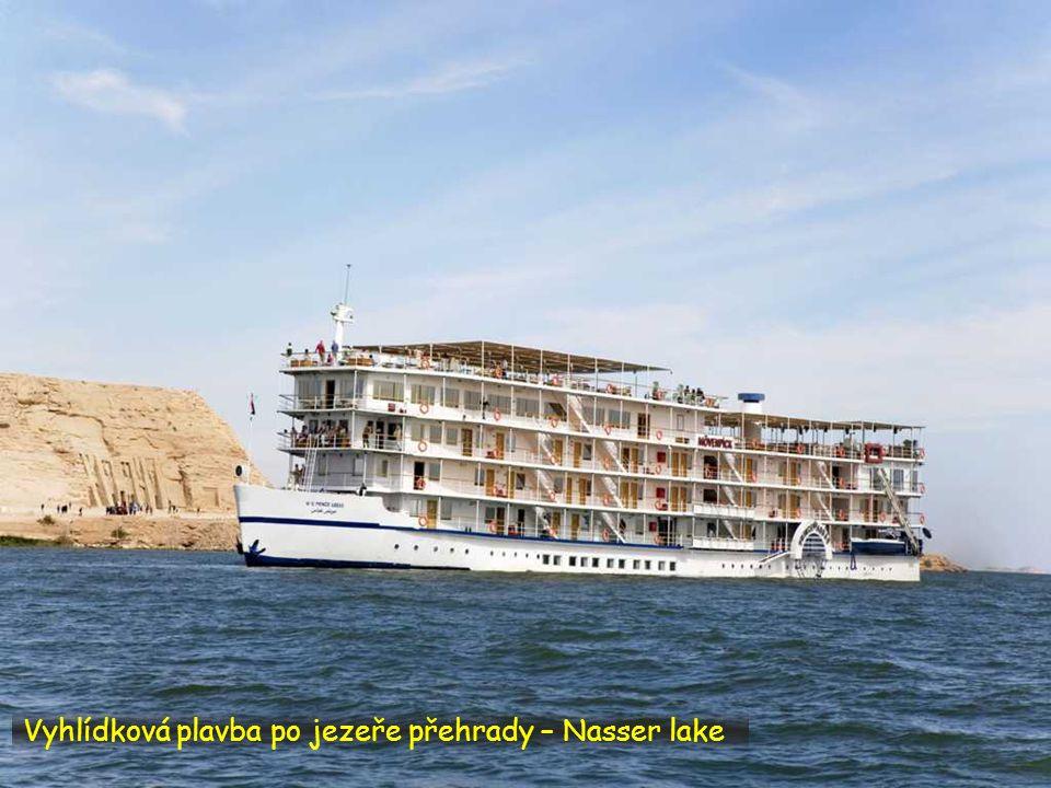 Vyhlídková plavba po jezeře přehrady – Nasser lake