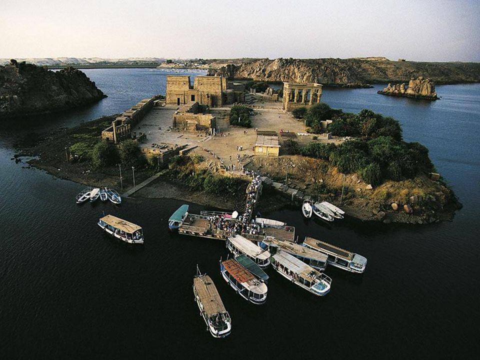 Ostrov Philae a stejnojmenný chrám