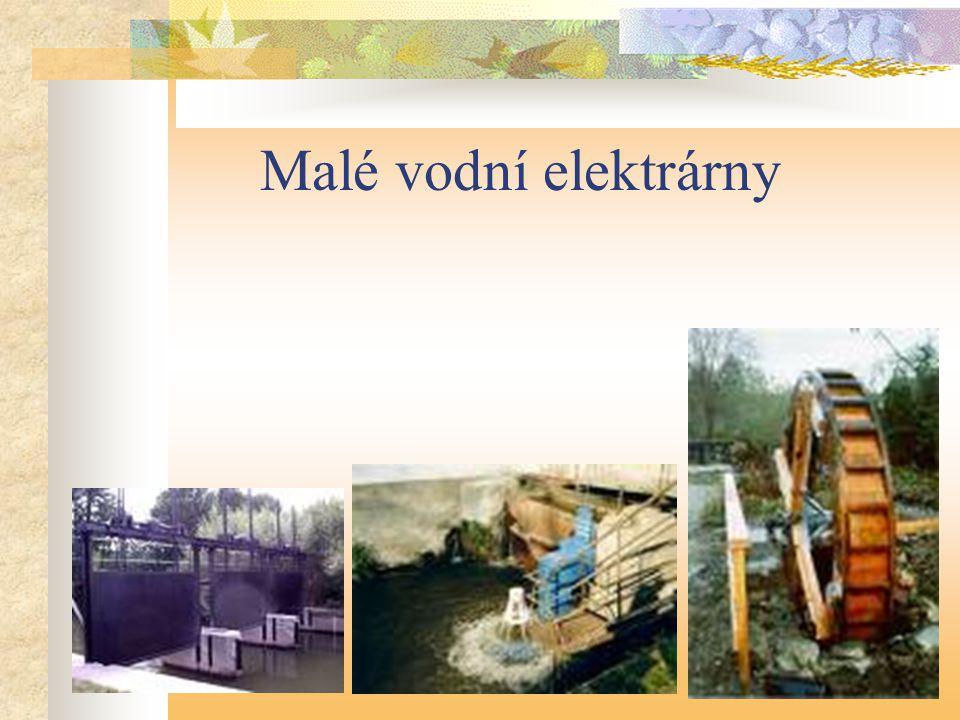 Malé vodní elektrárny