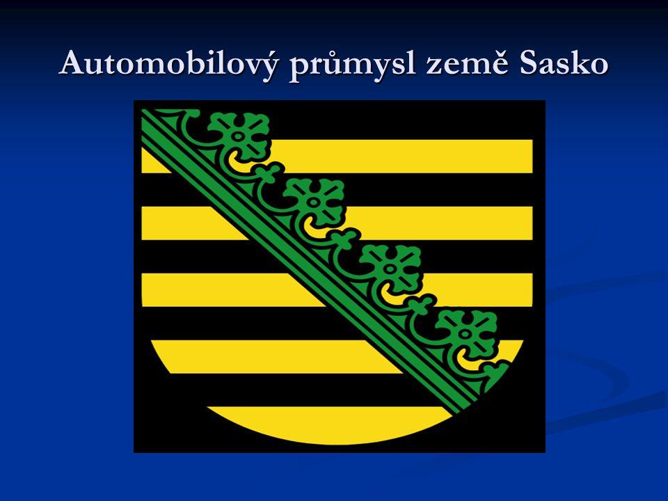 Automobilový průmysl země Sasko