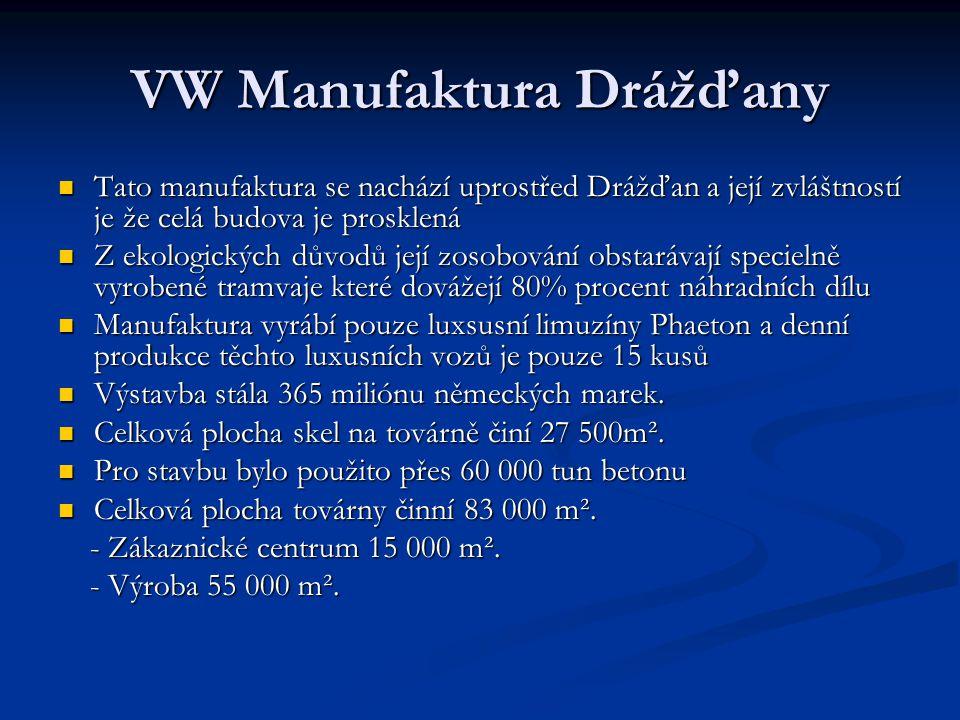 VW Manufaktura Drážďany