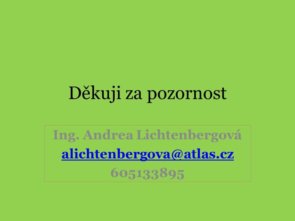 Ing. Andrea Lichtenbergová alichtenbergova@atlas.cz 605133895