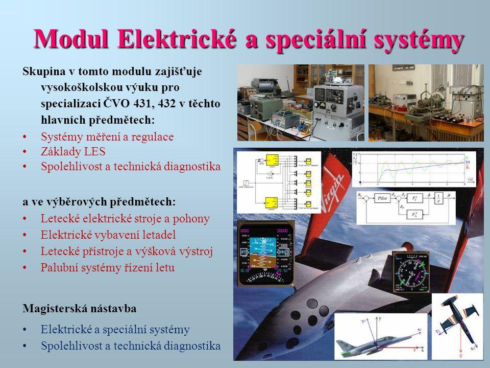 Modul Elektrické a speciální systémy