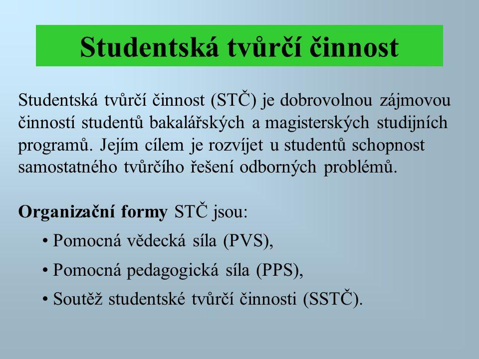 Studentská tvůrčí činnost