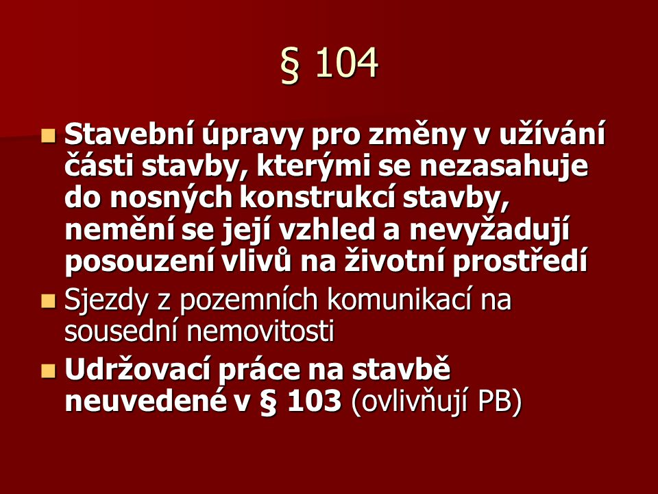 § 104