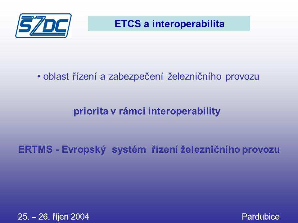 ETCS a interoperabilita