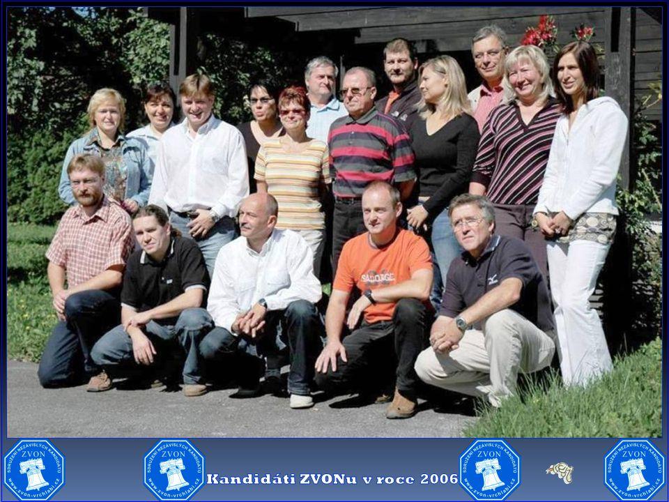 Kandidáti ZVONu v roce 2006