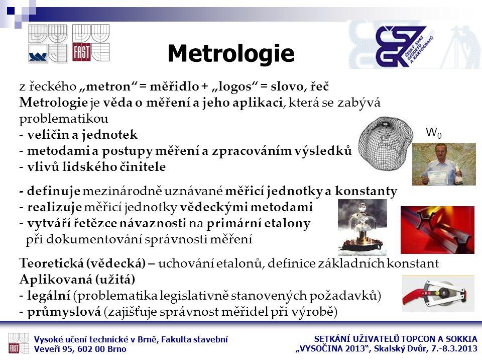 """Metrologie z řeckého """"metron = měřidlo + """"logos = slovo, řeč"""