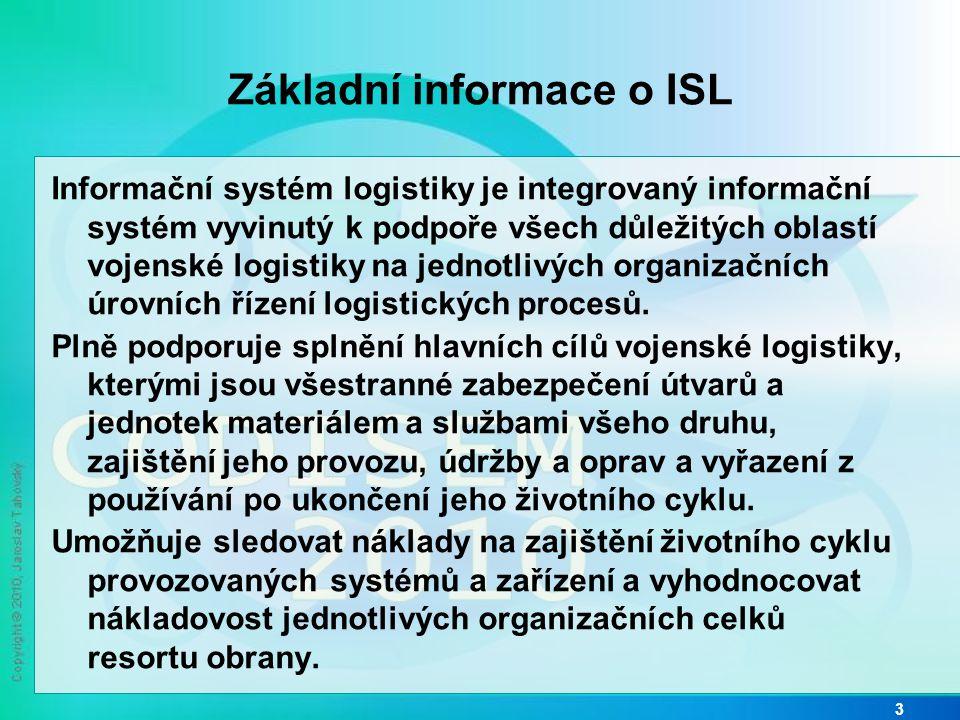 Základní informace o ISL