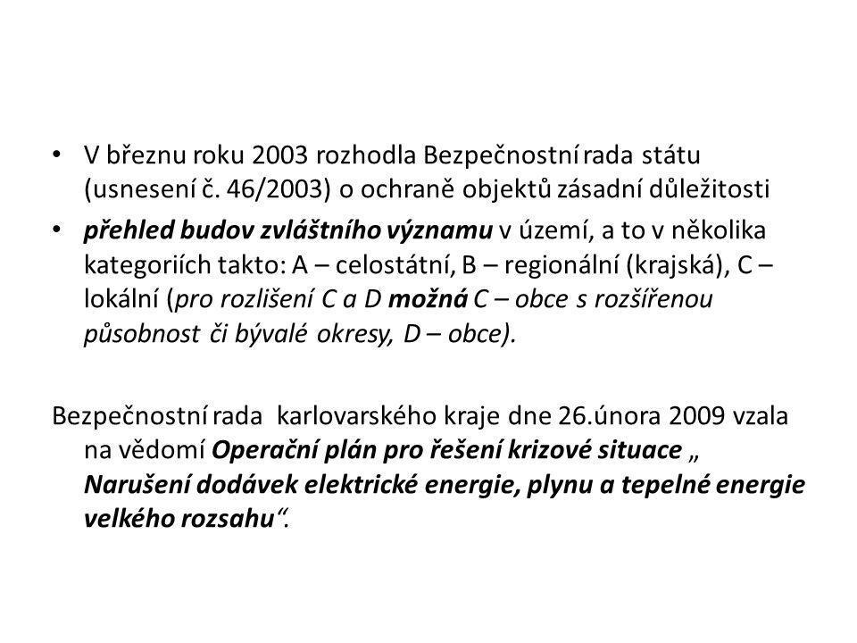 V březnu roku 2003 rozhodla Bezpečnostní rada státu (usnesení č