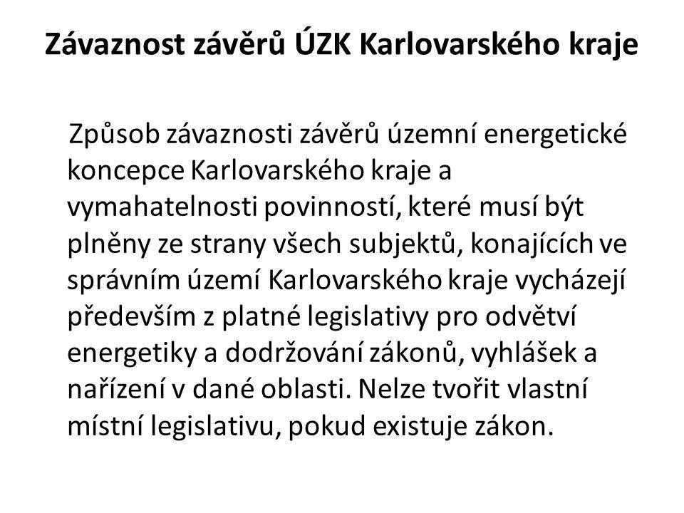 Závaznost závěrů ÚZK Karlovarského kraje