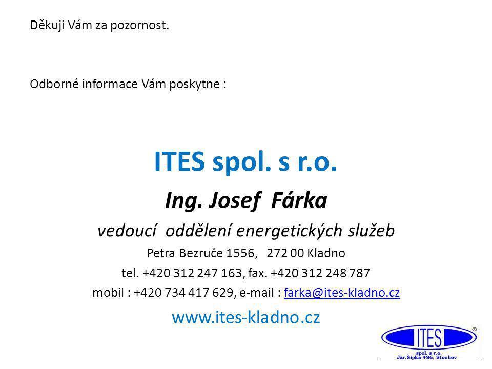 ITES spol. s r.o. Ing. Josef Fárka