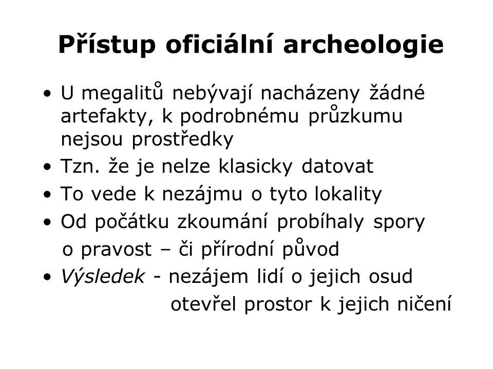 Přístup oficiální archeologie