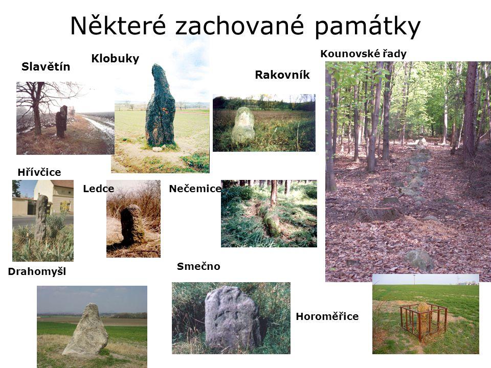 Některé zachované památky