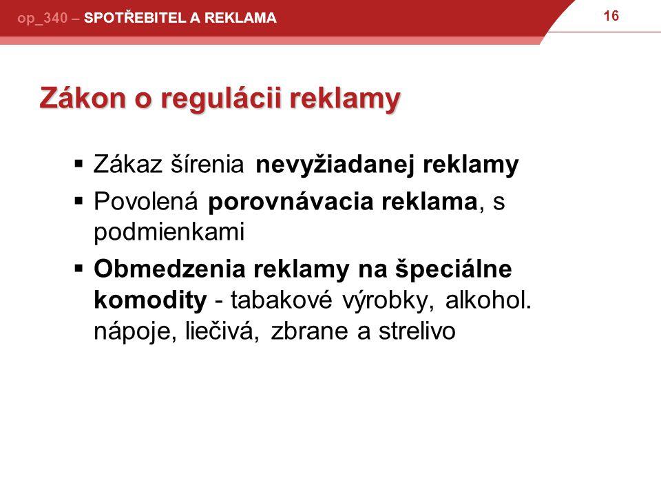 Zákon o regulácii reklamy