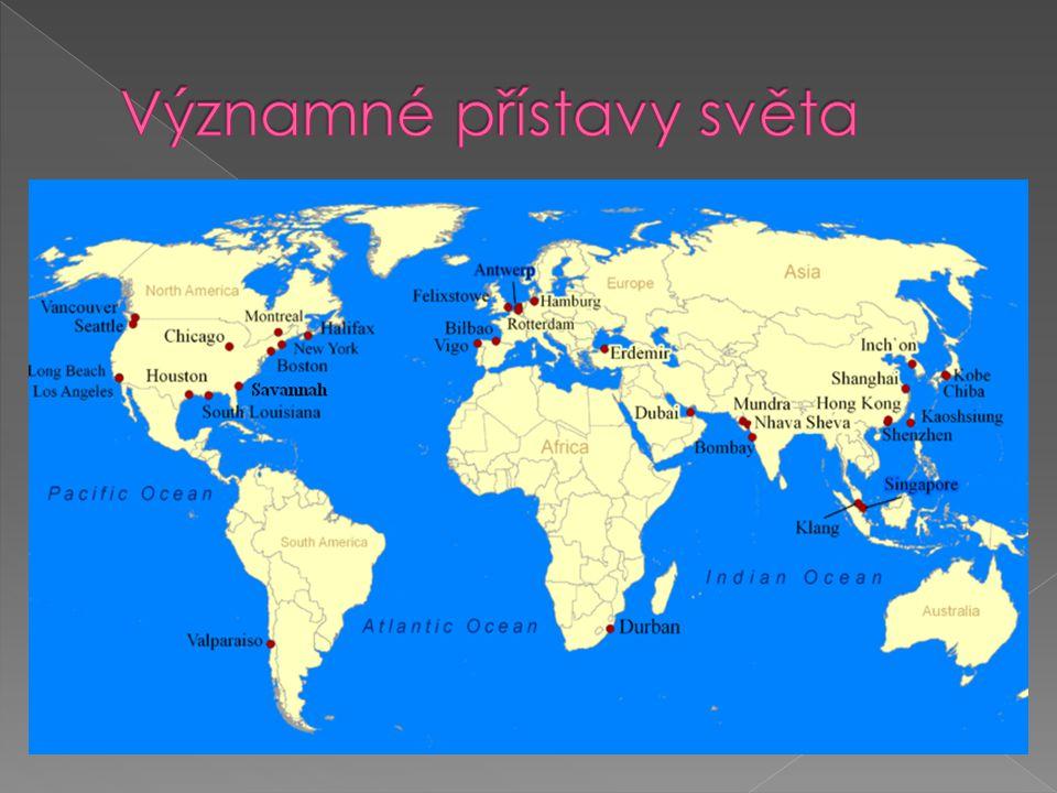 Významné přístavy světa