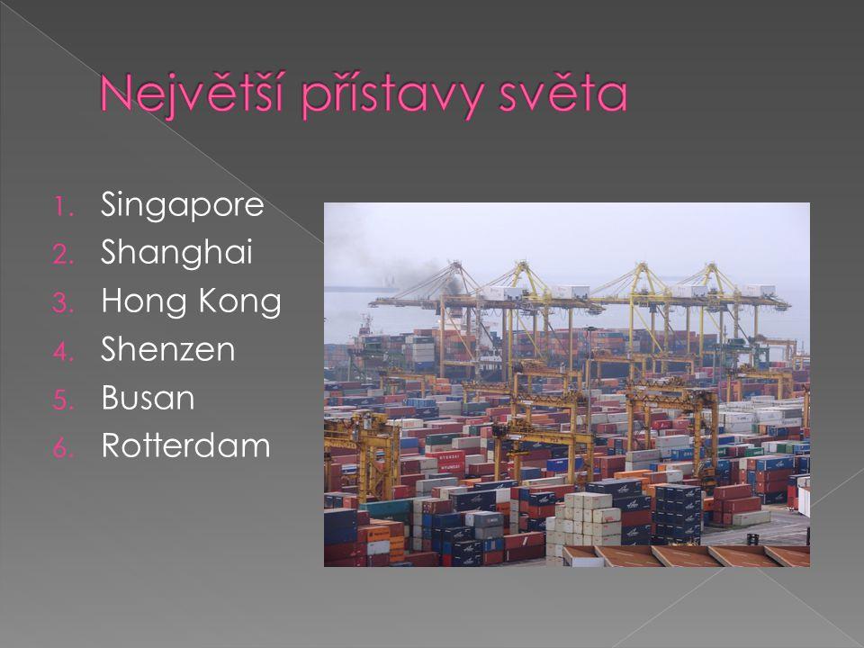Největší přístavy světa