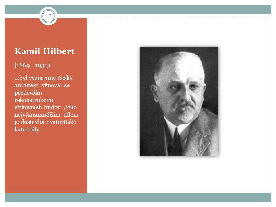 Kamil Hilbert (1869 - 1933)