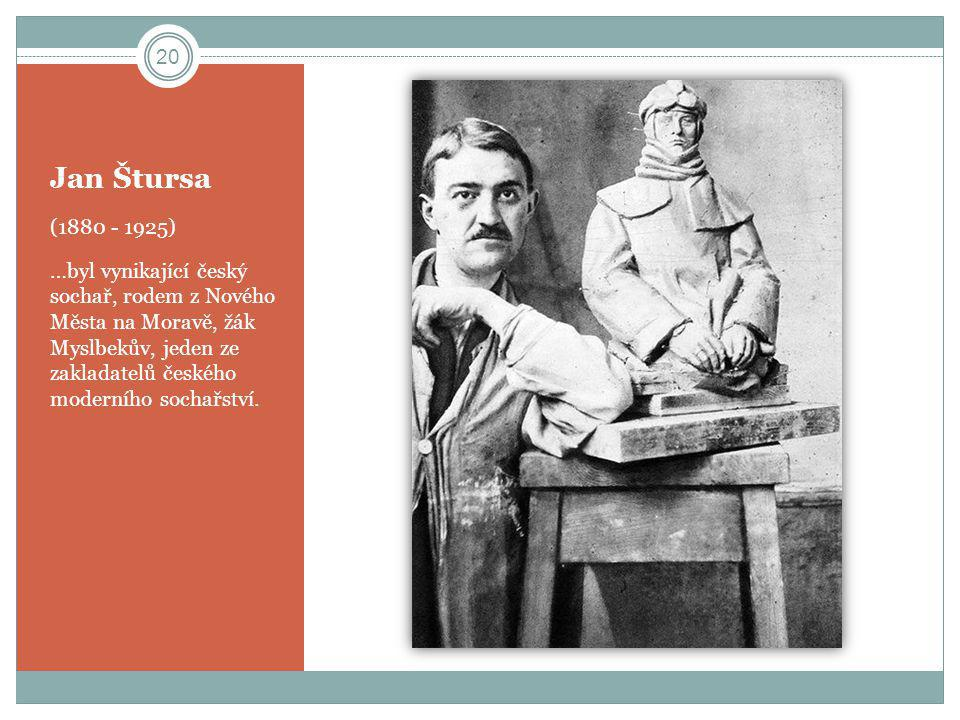 Jan Štursa (1880 - 1925)