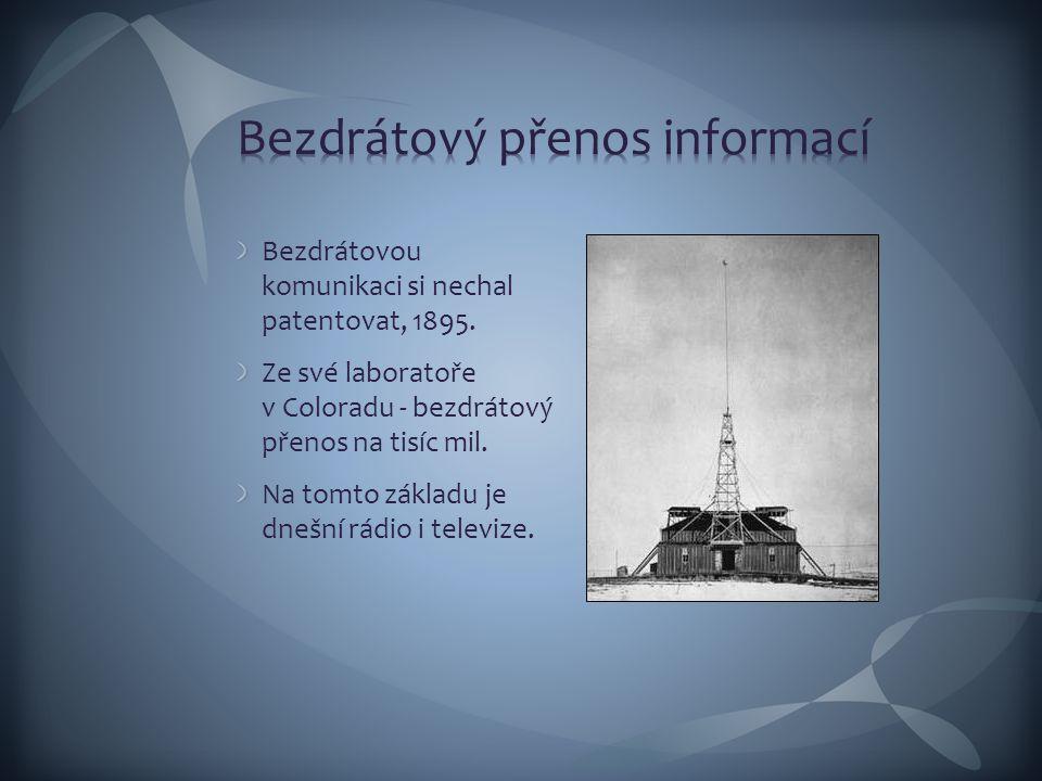Bezdrátový přenos informací