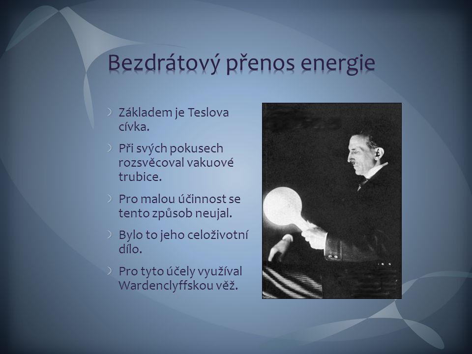 Bezdrátový přenos energie