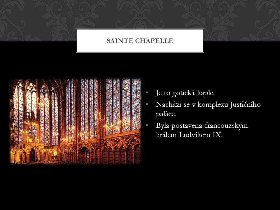 Nachází se v komplexu Justičního paláce.
