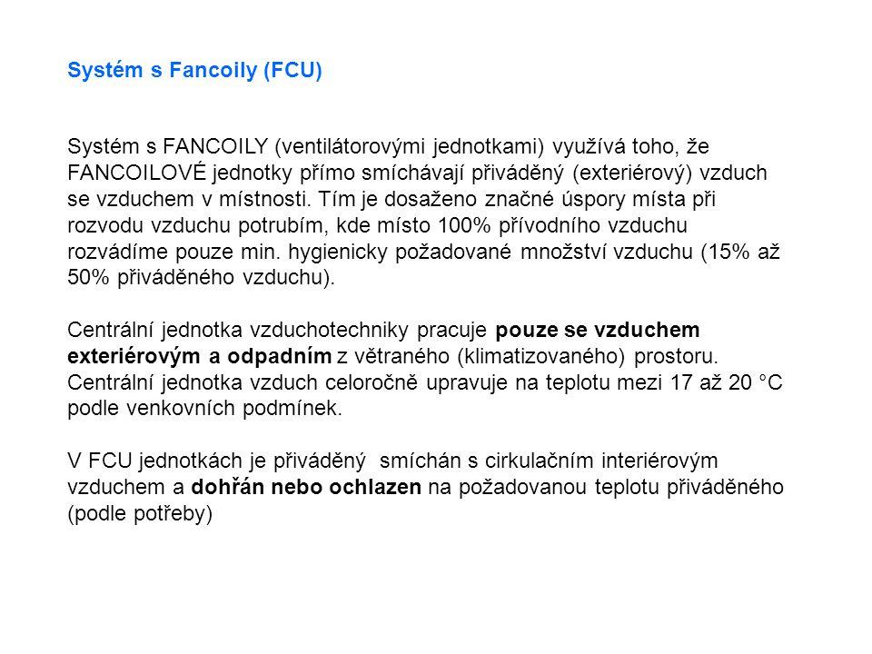 Systém s Fancoily (FCU)