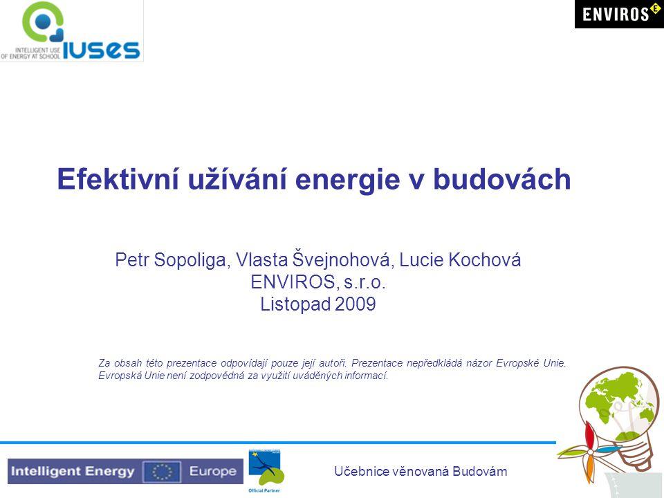 Efektivní užívání energie v budovách
