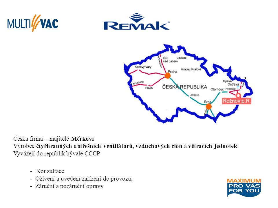 Česká firma – majitelé Měrkovi