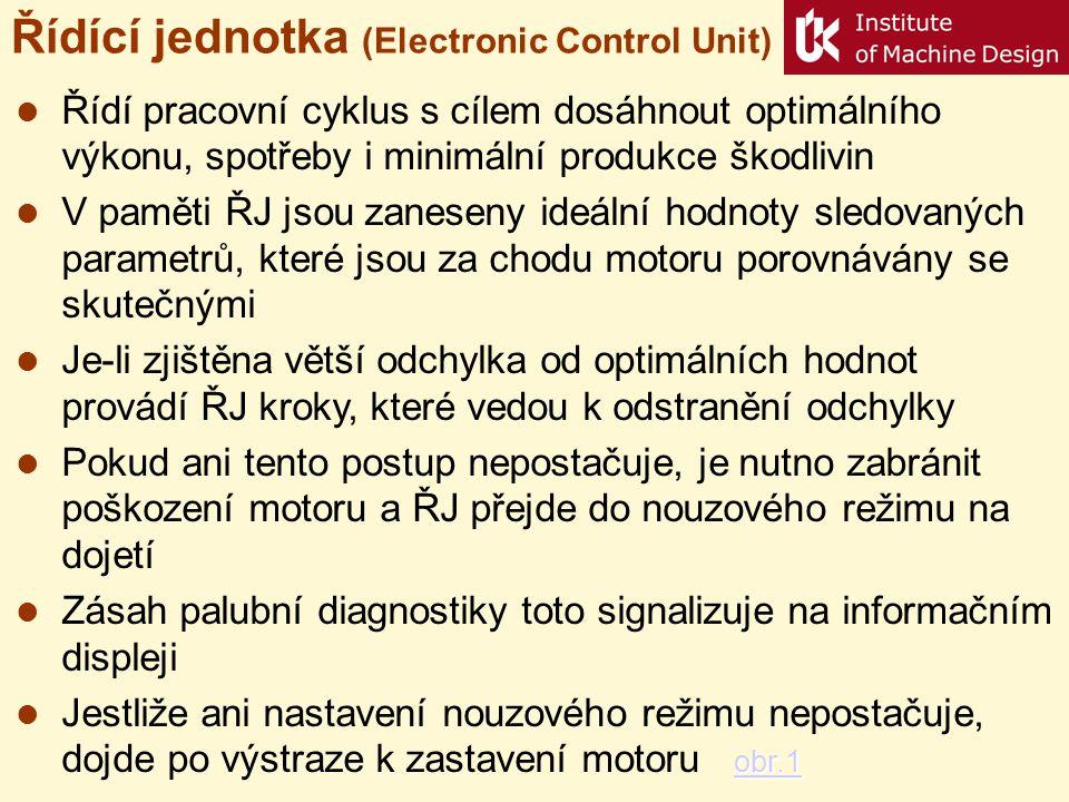 Řídící jednotka (Electronic Control Unit)
