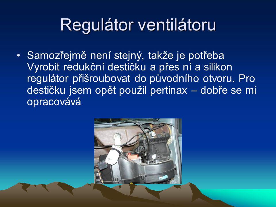 Regulátor ventilátoru