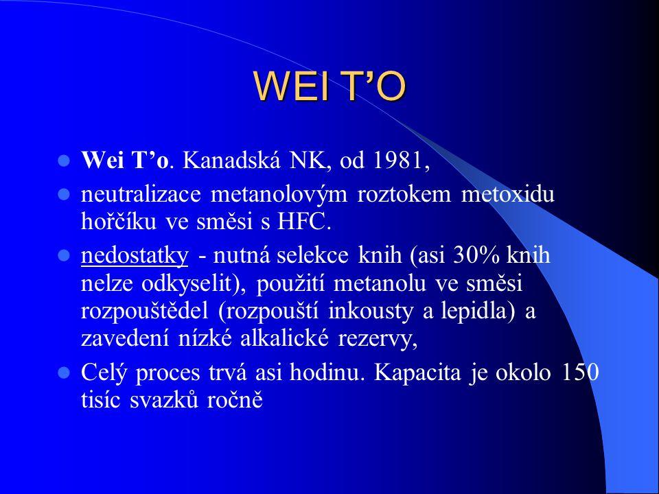 WEI T'O Wei T'o. Kanadská NK, od 1981,