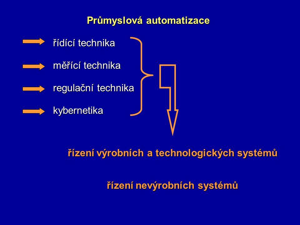 řízení výrobních a technologických systémů řízení nevýrobních systémů